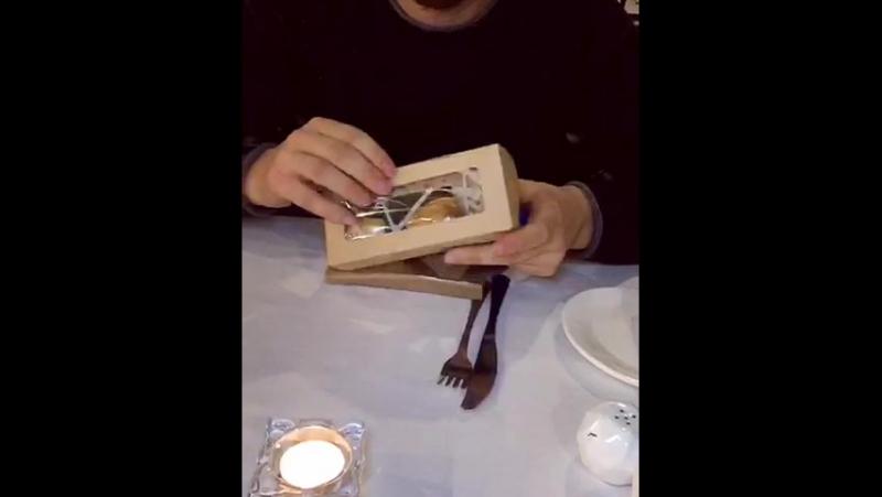 подарок от Любимой жены (Бренд KINGMAN) деревянная бабочка кошелек