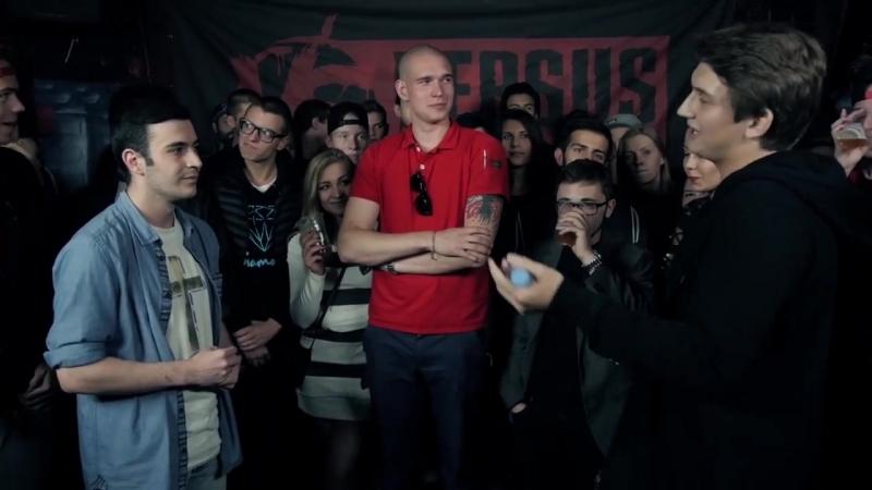 VERSUS- FRESH BLOOD 2 (tvoigreh VS Rickey F) Первый Отборочный Баттл