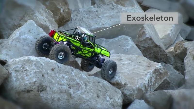 Losi Night Crawler SE RTR- 1-10 4WD Rock Crawler