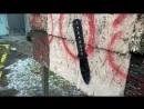 Нож с 30 метров