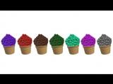 Английский для детей, учим цвета, числа и алфавит Английский для самых мале