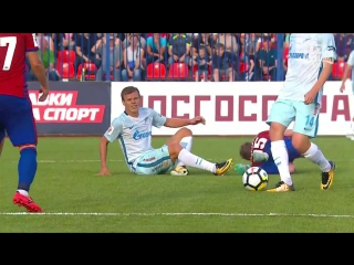 РФПЛ 1-й тур СКА-Хабаровск - Зенит 0:2 обзор 16.07.2017 HD