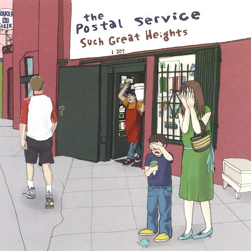 The Postal Service album Such Great Heights