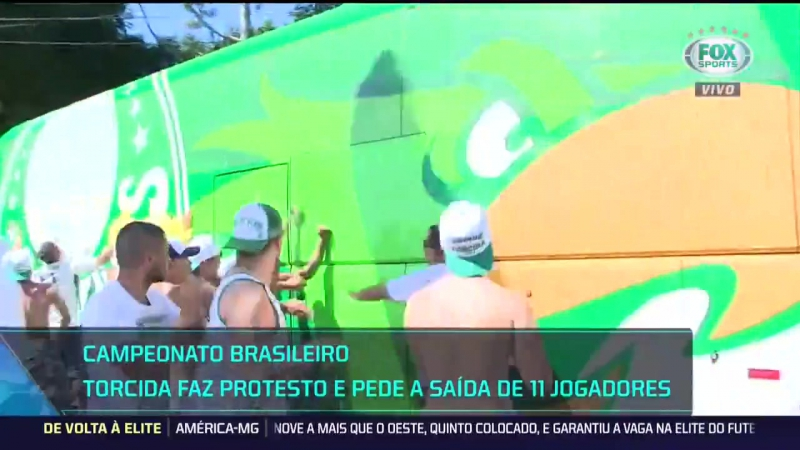 FOX Sports Brasil no Twitter 🐷 CRISE NO PALMEIRAS Torcida d