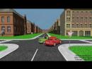 Типичные ДТП во время проезда нерегулируемых перекрестков. Видео-урок по ПДД
