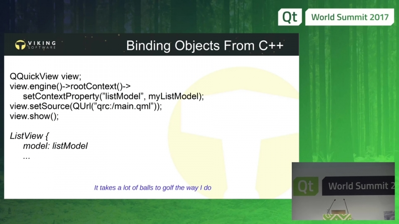 QtWS17 QML For C Developers