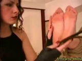 Foot Torture - Feet Bastinado Whipped Soles 2