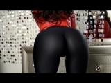 Black leggings, sexy ass girl [720]