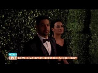 Demi Lovato's Mom Dianna De La Garza On Demi & Wilmer - I Do Like Them Together - Access
