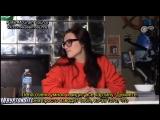 Интервью на съемках третьего сезона «Супергерл» (rus sub)