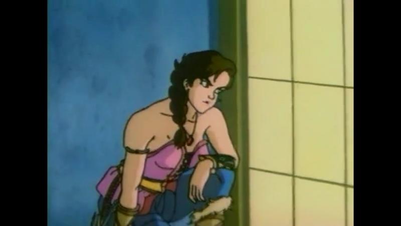 Конан: Искатель Приключений (1993) [s02e43 - Sword, Sai Shuriken]
