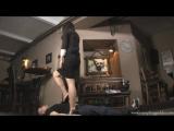 Goddess Amanda Foot fetish Фут-фетиш Потопталась ножками feet slave trampling #femdom #mistress #heels