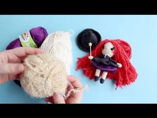 Как я вяжу игрушки крючком Вязание куклы амигуруми _