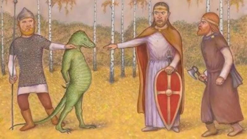 ►Откуда появились рептилоиды и как их распознать среди людей