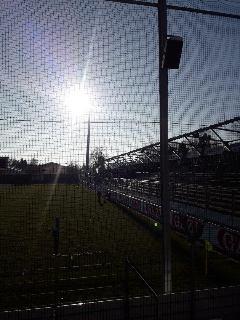 вид на поле стадиона в Региональной Лиге