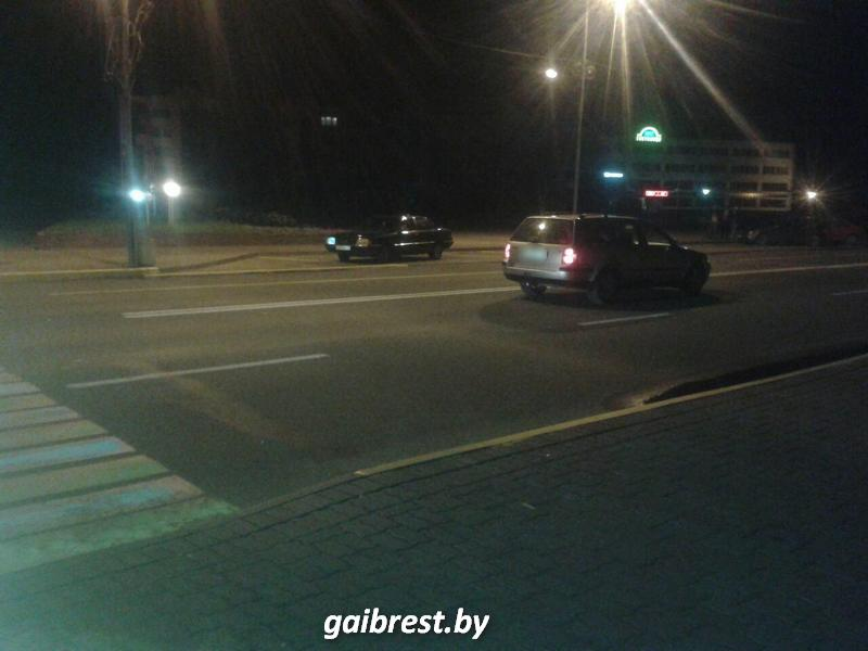 В Ивацевичах в результате наезда пострадала пешеход