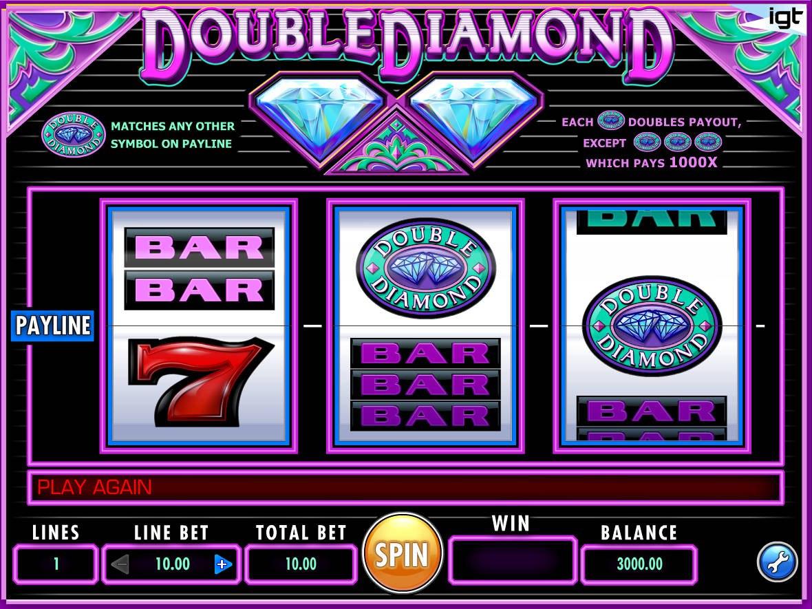 Double Diamond Slot - как играть в эту игру на слоте