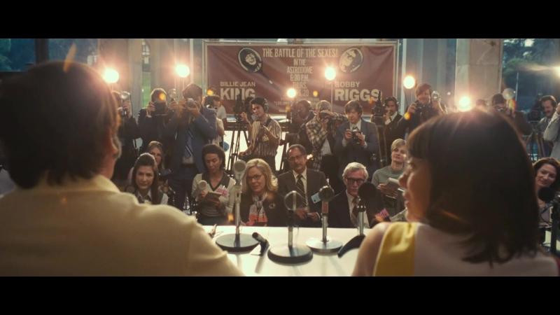 Битва полов (Battle of the Sexes, трейлер)
