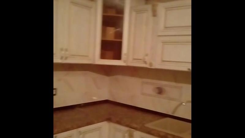 кухня под классику потинированный под золота