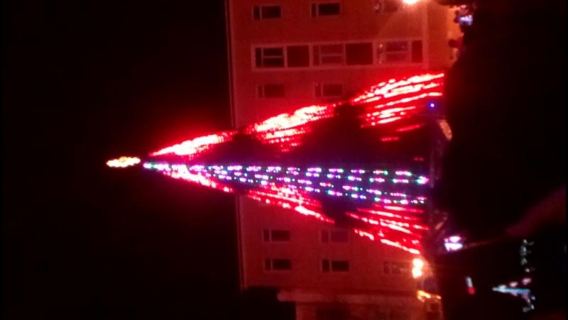 Запалення новорічної ялинки в Хмельницькому
