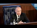Владимир Путин и Минобороны: итоги года