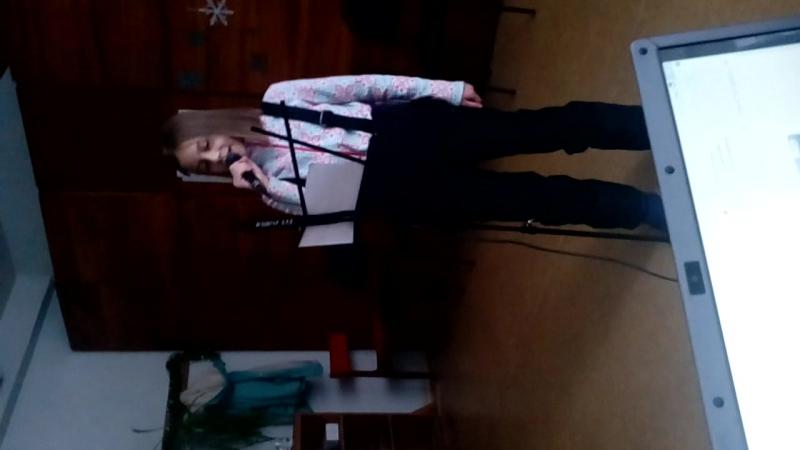 Моя ученица Валерия Ветушинская-Лети со мной(репетиция)