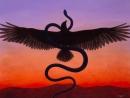 Трактование значения символов птицы и змеи в древних традициях.