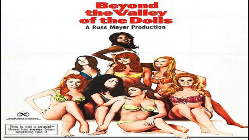1970 - Russ Meyer -Beyond the Valley of the Dolls -Dolly Read, Cynthia Myers, Marcia McBroom