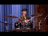 Justin Bieber and Questlove Drum-Off (720p).mp4