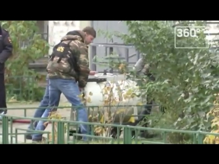 Саперы вынесли бомбу из квартиры в Балашихе