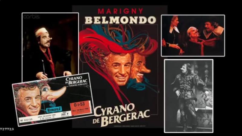 Jean-Paul Belmondo - монолог Сирано де Бержерака
