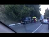 В Сочи произошло ДТП с участием трёх машин