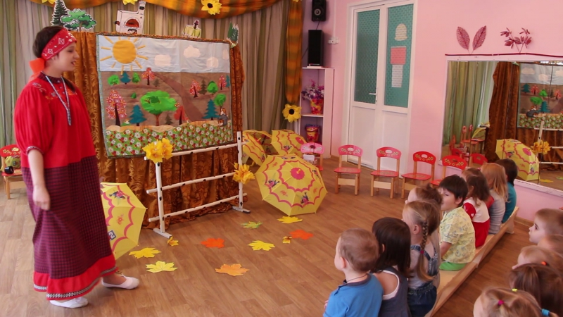 Кукольный театр для детей младшего дошкольного возраста. ЯрПК. Практика.