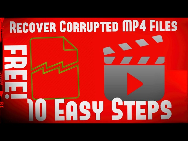 How-To Recover Corrupted MP4 Files For FREE! | 10 Easy Steps