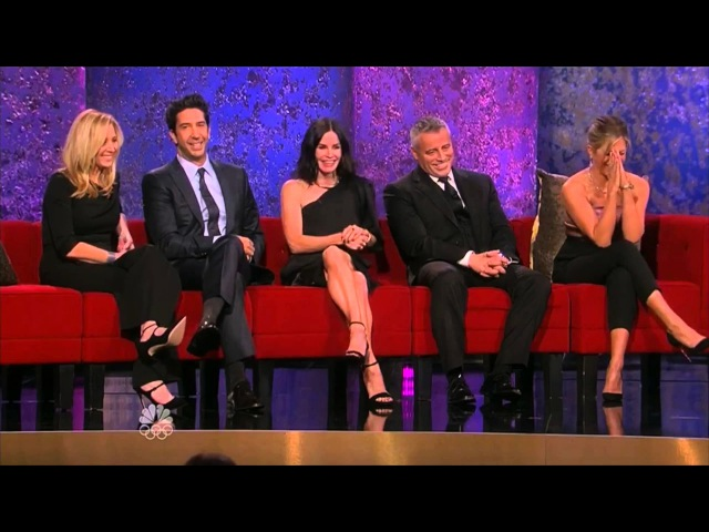 FRIENDS REUNION INTERVIEW 2016