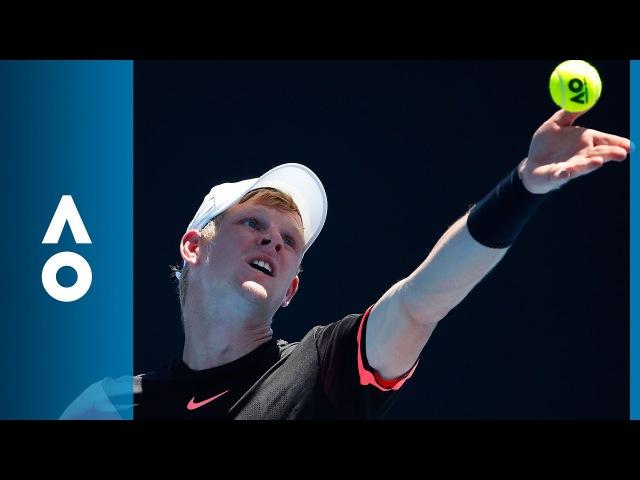 Kyle Edmund v Nikoloz Basilashvili match highlights (3R) | Australian Open 2018