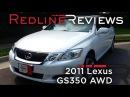 2011 Lexus GS350 AWD Review, Walkaround, Exhaust, Test Drive