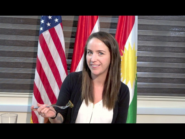 U.S. Consulate General Erbil Employees Try Kurdish Food on Newroz