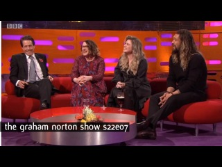 Graham Norton Show S22E07 Hugh Grant, Jason Momoa, Sarah Millican and Kelly Clarkson