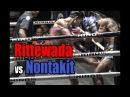 Muay Thai Littewada vs Nontakit ฤทธิ์เทวดา vs นนทกิจ Lumpini Stadium Bangkok 9 1 18