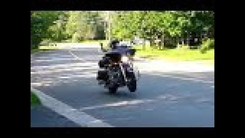 Little VTX1800 wheelie