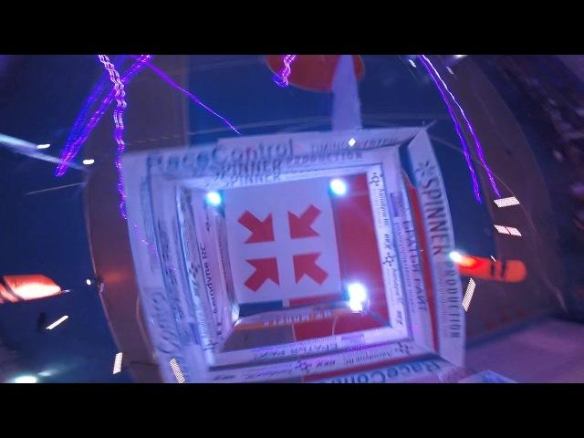 Кубок Пермского края по гонкам дронов - Winter Drone Russia 2018 - трасса