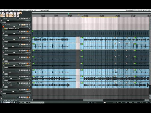 Tutorials For Reaper | Drum Rescue | Live Re-sample | Trigger audio to Midi | Drum replace