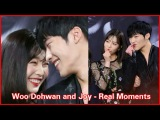 Woo Dohwan and Joy - Real Moments (Park Sooyoung - Red Velvet Joy) MBC Tempted
