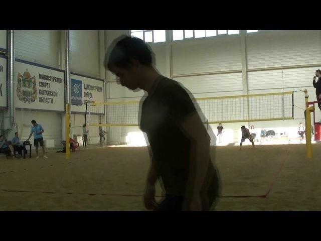 Beach volley Cup U20 Russia 2018 M27 Gusev-Shustrov and Saraev-Salmanov