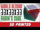 WORLD RECORD 33x33x33 RUBIK's CUBE !!