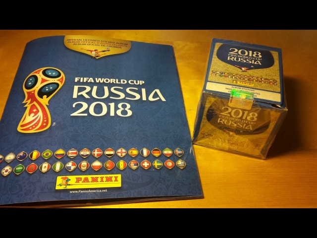 2018 Panini World Cup Russia Stickers Collection Box Break and Album Review