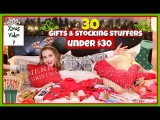30 Gift &amp Stocking Stuffer Ideas Under $30
