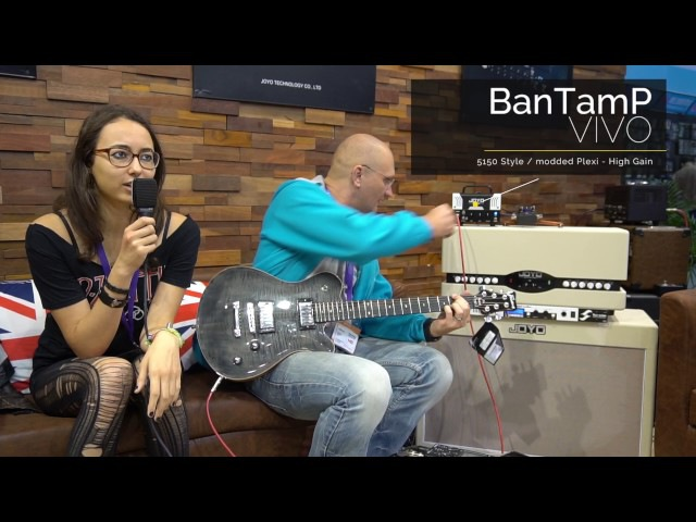 4 More Joyo BanTamP models at Music China