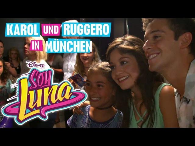 SOY LUNA - Karol und Ruggero in München - Das ganze Video! | Disney Channel